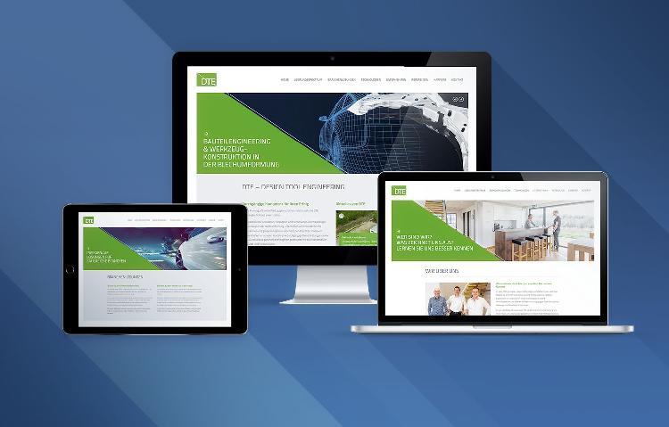 DTE Webseite